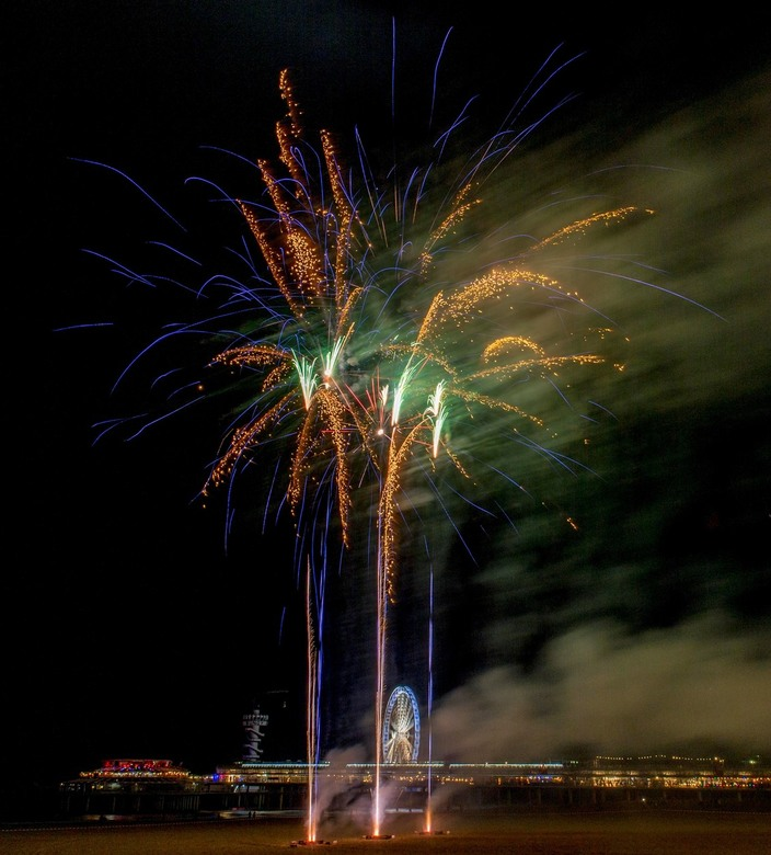 Vuurwerk Scheveningen 18-12-2016