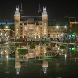 Spiegeling in Amsterdam