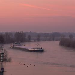 Op de IJssel.