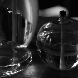 Glazen reflectie