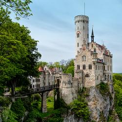 Sprookjeskasteel, Schloss Lichtenstein