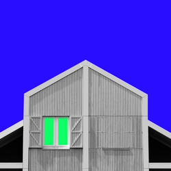 Landhouse abstract