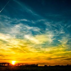 Zonsondergang @ Millingen aan de Rijn