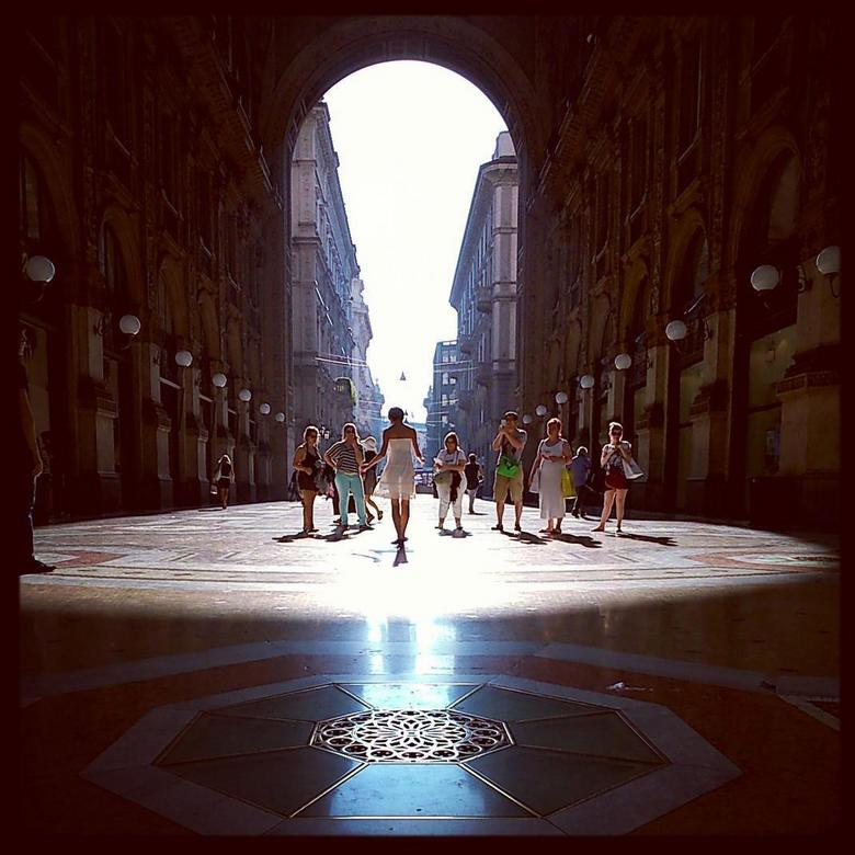 Milaan - Ik ben op vakantie geweest naar Venetië en heb toen ook de trein gepakt naar Milaan, waar ik deze foto heb gemaakt.