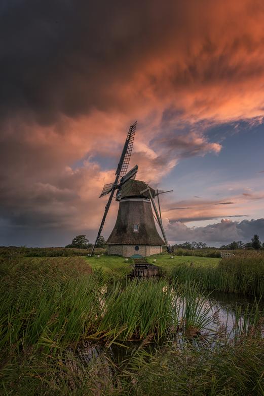 Rypsjerkerpoldermolen - Een mooi begin van de dag bij een molen met een van de langste namen van Nederland.
