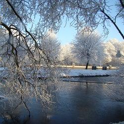 Wilhelminakanaal in de winter