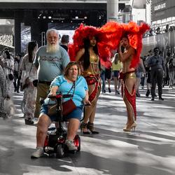 Las Vegas contrast