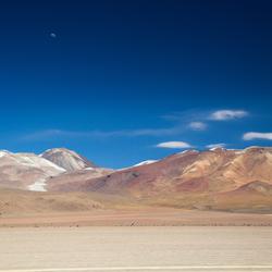 Bergen in de Boliviaanse Andes