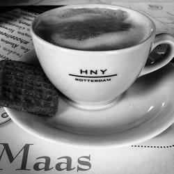 Cappuccino in hotel NY
