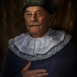 foto van Jan ala Rembrandt vR _DSC03466-def klein-by Henk Aschman