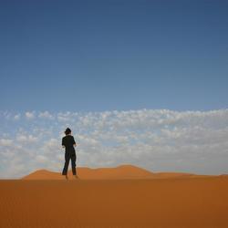 zand, zand, zand en stilte