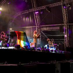 Jett Rebel on stage