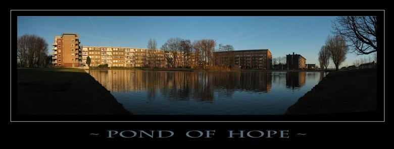 ~ Pond Of Hope ~ - Hallo allemaal,<br /> <br /> De Oosterwijkvijver in Beverwijk heb ik al eens eerder in een panoramaversie geplaatst (foto 223300)