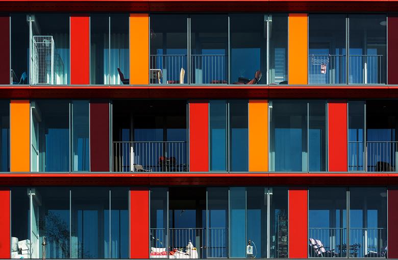 Kleurrijk wonen - Ook gezien in Rotterdam.<br /> Met dank voor alle reacties op mijn vorige up!
