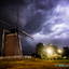 Onweer bij Gerritsens molen