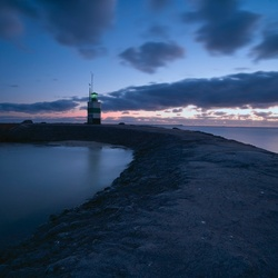 Rifkin Lighthouse in Blue-hours