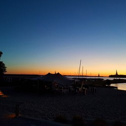 Sunset Veluwemeer Droompark Bad Hoophuizen