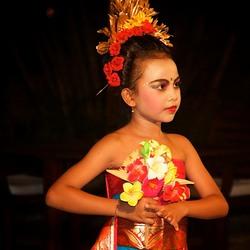 Bali jonge danseres