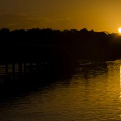 Sunrise Surinamerivier
