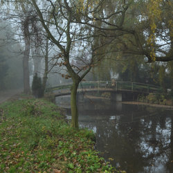 The beauty of Westzaan in the autumn