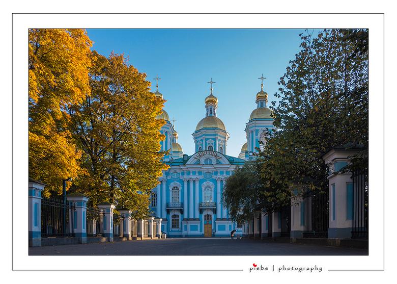Nicolaas kathedraal Sint Petersburg - Voor mijn werk moest ik naar Rusland, Sint Petersburg. Nadat het werk klaar was heb ik er nog  een weekend aan v