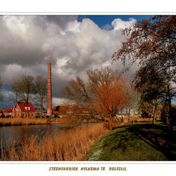 Steenfabriek Hylkema te Delfzijl