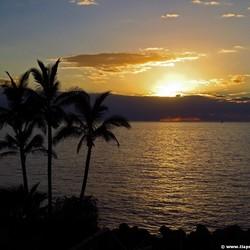 Mooie zonsondergang op Tenerife