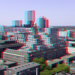 uitzicht Laurenstoren Rotterdam 3D