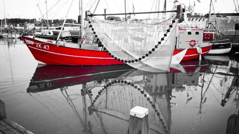 Vissersboot - Visserijdagen in Zoutkamp (Groningen)