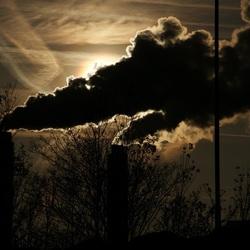 Schoorstenen van Afval Energie Bedrijf Amsterdam