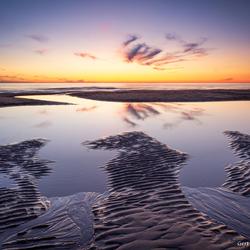 Noordwijk zonsondergang