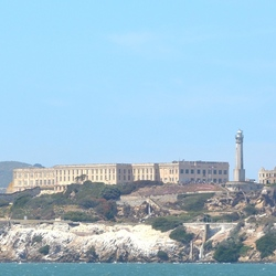 Alcatraz van het water