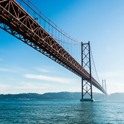 25th April bridge in Lissabon