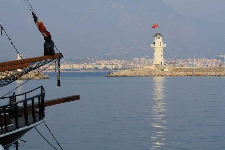 Haven - In de haven van Alanya, Turkse kust