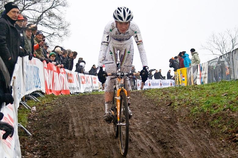 white queen of cyclo cross - marianne vos, gp adrie van de poel 2010