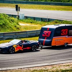 Max Verstappen bocht 9 Circuit Zandvoort