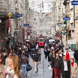 T Istiklal Caddesi (Beyoglu) Tram 2 .jpg