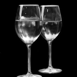... en zo 2 glazen water.