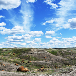Red Rock Coulee, Alberta Canada