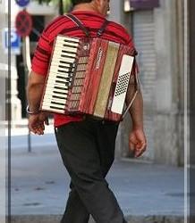 Eenzame muzikant