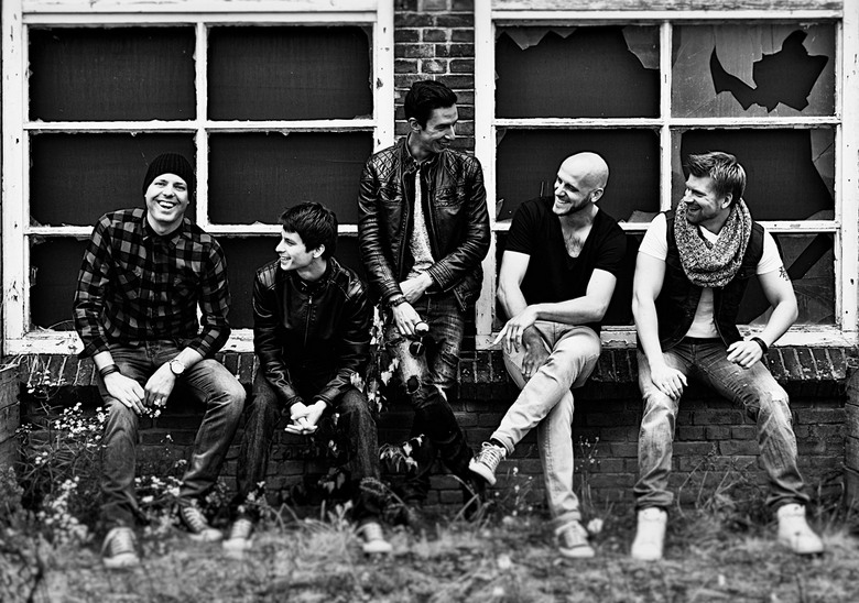 Band fotoshoot - Mooie ervaring shooting a new rock band.