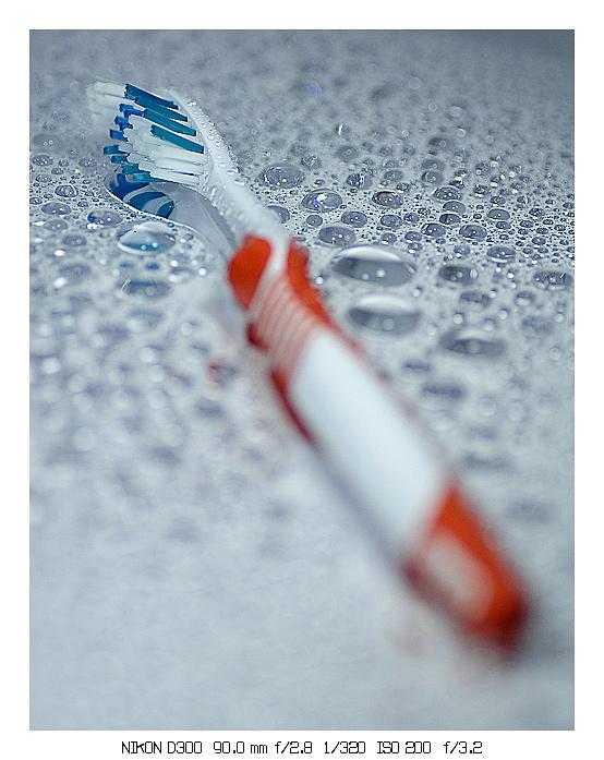 Tandenborstel - Tandenborstel met een vleugje DOF