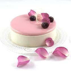 rozen taart