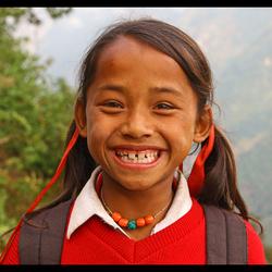 Nepalese glimlach