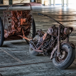 The old Motorbike