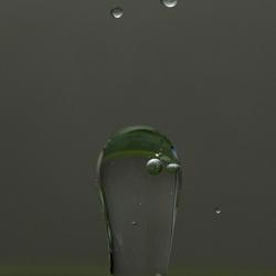 Net glas, maar toch water
