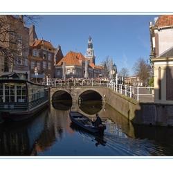 Voorjaar in Alkmaar.