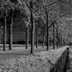 Oirschot in zwart wit