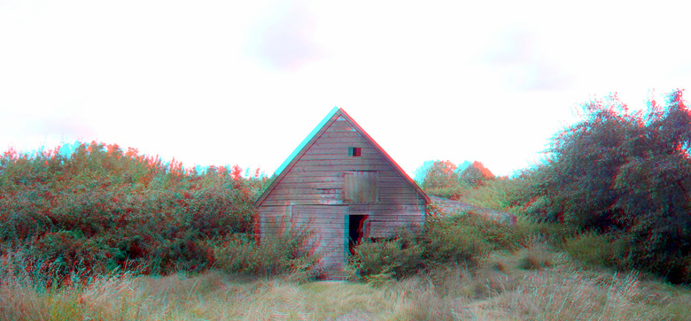 schuur Dubbeldam (Dordrecht) 3D GoPro - schuur Dubbeldam (Dordrecht)<br /> 3d GoPro<br /> anaglyph stereo red/cyan