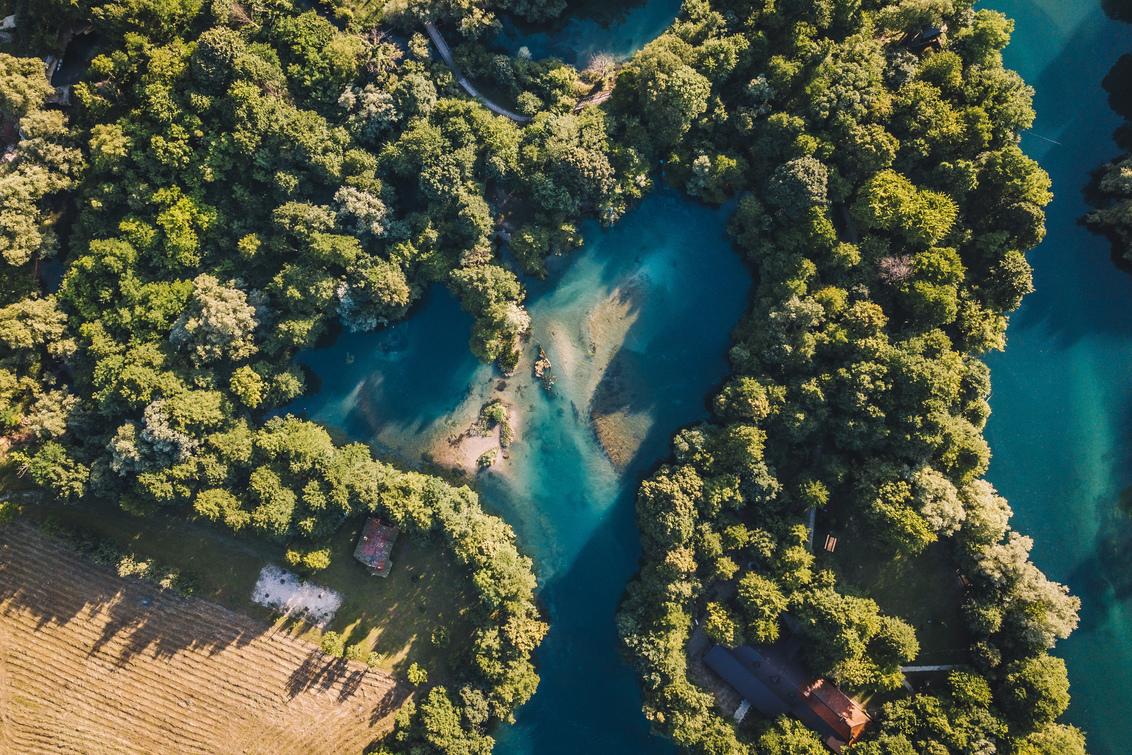 Green heart of Bosnia.